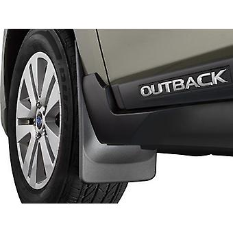 WeatherTech DigitalFit 110072 - All Weather Custom Fit Mud Flaps - Front Wheels ONLY - Fits 2015-2018 Subaru Outback - B