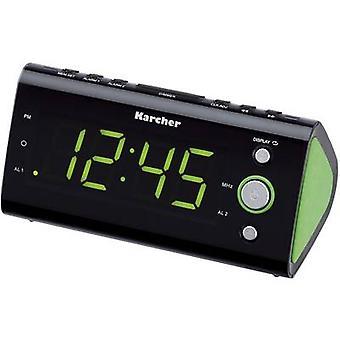 Karcher UR 1040 FM Radio vekkerklokke FM Green