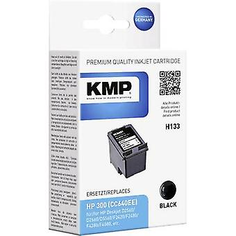 KMP Ink replaced HP 300 Compatible Black H133 1710,4811