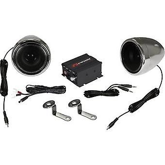 2 sätt högtalare Stålplåtbearbetning ange 100 W Renegade RXA100C