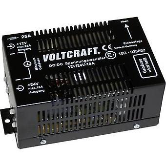 Convertidor DC/DC el VOLTCRAFT 24 12/10 VCC / 10 A