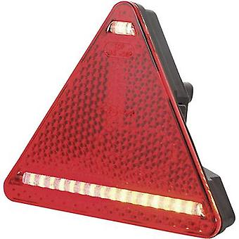 WAS LEDs Trailer tail light Turn signal, Reflector , Brake light, Tail light rear, right 12 V, 24 V