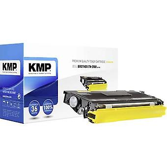 KMP Toner cartridge replaced Brother TN-2000, TN2000 Compatible Black 2500 pages B-T10