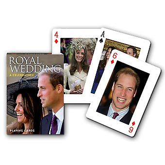 Royal Wedding Set Of Playing Cards + Jokers