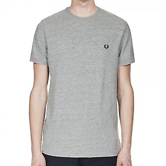 Fred Perry M3519 Ringer T-Shirt Vintage stalen Marl