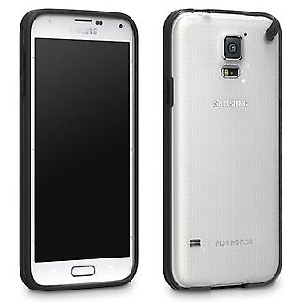PureGear Slim Snap-On Shell Case for Samsung Galaxy S5 (Licorice Jelly)