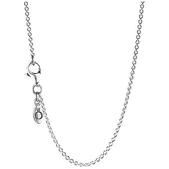 PANDORA Sterling Silver Chain Necklace - Adjustable - 590412-90
