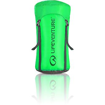 Lifeventure Ultralight Compression Sack - 15 Litres Green