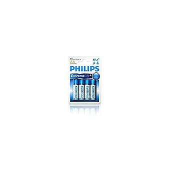 Philips LR6E4B AA Ultra alcaline batterie 4 PCs
