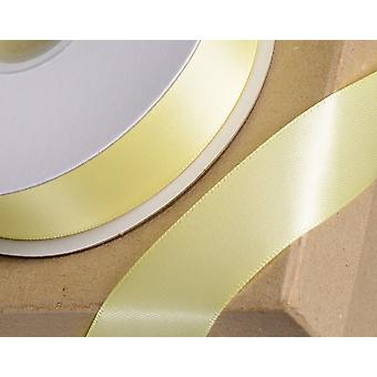 10mm Yellow Satin Ribbon for Crafts - 25m | Ribbons & Bows for Crafts
