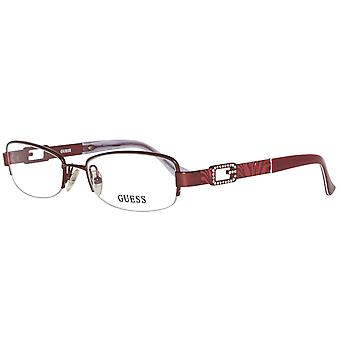 Guess glasses ladies Burgundy