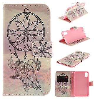 iPhone X Plånboksfodral - Sunset & Dream Catcher