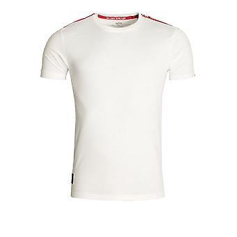 Alpha Industries RBF Taped T-Shirt | White