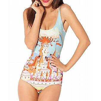 Waooh - Swimsuit a printed piece Zwen city