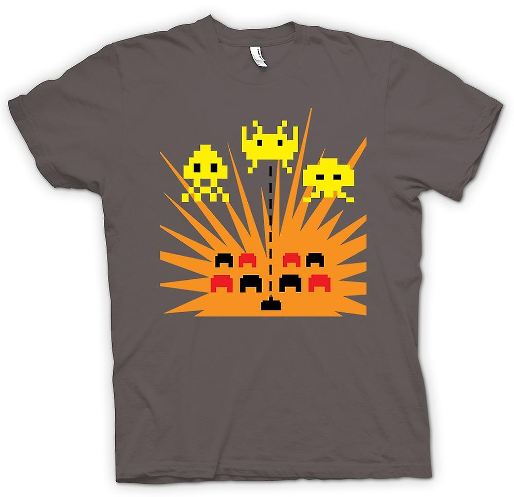 Heren T-shirt - Space Invaders - Game Over
