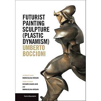 Futuristiska måleri skulptur (plast dynamik) av Maria Versari - Ric