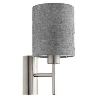 Wellindal Apply textile 1 Light Gray Nickel and Pasteri