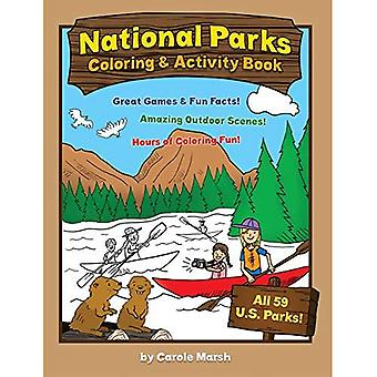 America's National Parks Coloring and Activity Book (Non-State)