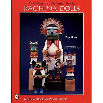 CARVING traditionelle stil KACHINA dukker (Schiffer militærhistorie)