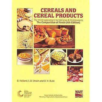 Cereals and Cereal Products: RSC: Cereals and Cereal Products Supplement to 4r.e (R6743kr)