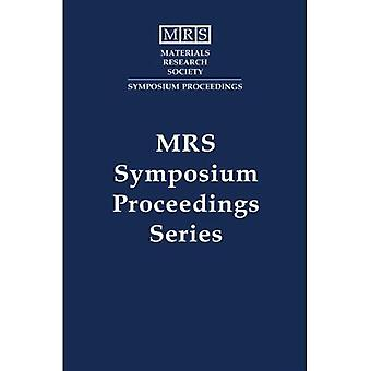 Electrical, Optical, and Magnetic Properties of Organic Solid State Materials: Volume 328 (MRS Proceedings)