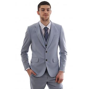 Paul Smith Mens 2 Piece Suit Wool And Mohair