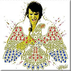 Elvis American Eagle fridge magnet     (ro)