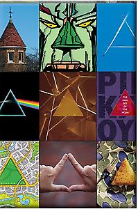 Pink Floyd Triangles fridge magnet (Cd)