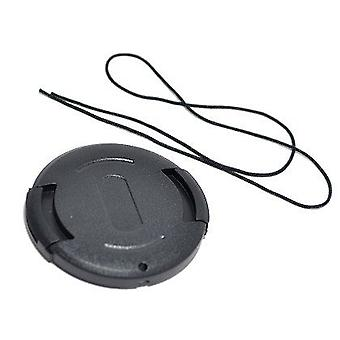 Dot.Foto 43mm Snap On Lens Cap with string / leash for Panasonic AG-DVC15, AG-HMC40, AG-HMC41, AG-HMC43, AG-HMC70, AG-HMC71, AG-HMC72, AG-HMC74, AG-HMC80, AG-HMC81, AG-HMC82, AG-HMC83, AG-HMC84