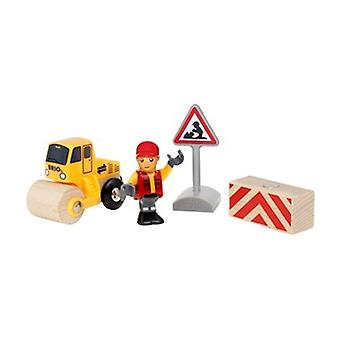 BRIO Road Worker Play Kit 33899 Wooden Railway Extra Figure