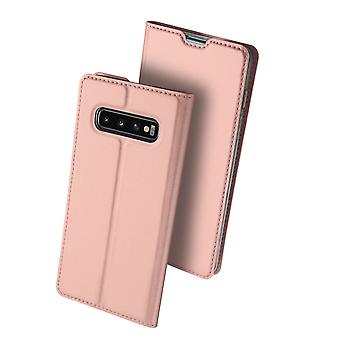 DUX DUCIS Pro Series pouch Samsung Galaxy S10-Rose Gold