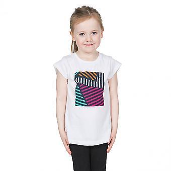 e0674ed6 Overtredelse jenter Linnea grafikk kort erme bomull T skjorte