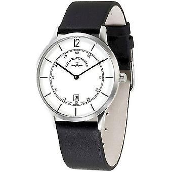 Zeno-watch mens watch site white 6563Q-i2