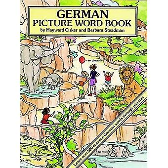 German Picture Word Book by Hayward Cirker - Barbara Steadman - 97804