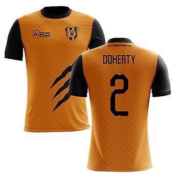 2019-2020 Wolverhampton Home Concept Football Shirt (Doherty 2)