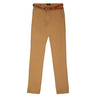 Scotch & Soda Slim Fit Chino Trousers,Sand