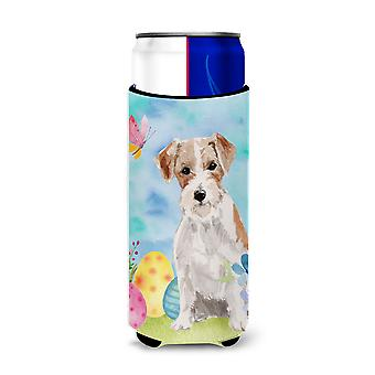 Wire Hair Jack Russell Easter Michelob Ultra Hugger for slim cans