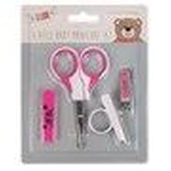 Little Stars 4 Piece Baby Manicure Set - Pink