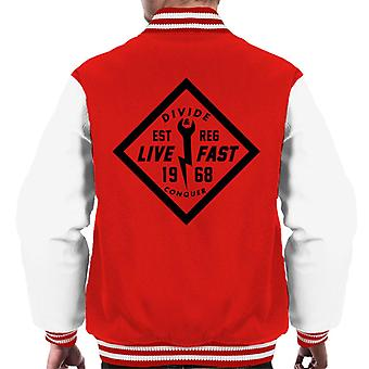 Divide & Conquer Live Fast Wrench Men's Varsity Jacket