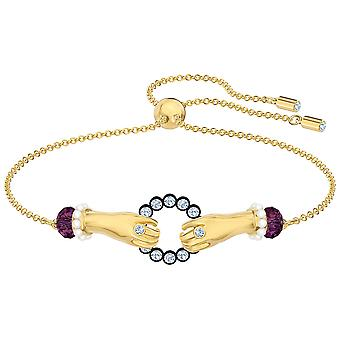 Swarovski Tarot Magic Bracelet - Multi-colored - Gold-tone Plated