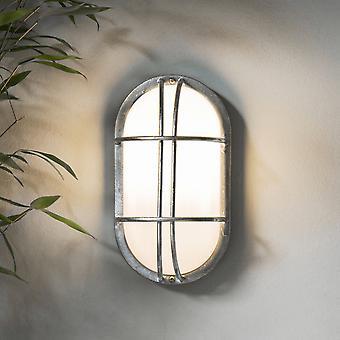 Garten Handel St Ives Bulk Scheinwerfer Außenwand - verzinkt