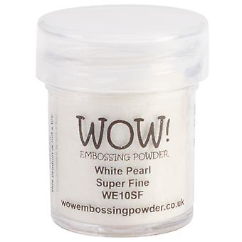 Wow! Embossing Powder Super Fine 15Ml White Pearl Wow Sf We10