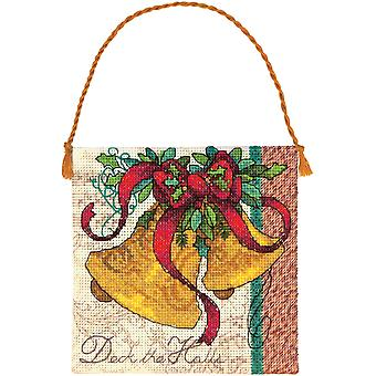 Gold Collection Petites Bells Ornament Counted Cross Stitch 4.25
