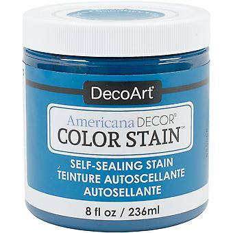 Americana Decor Color Stains 8oz-Turquoise ADCS-15
