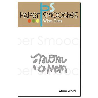 Paper Smooches Die-Mom mot M1D314