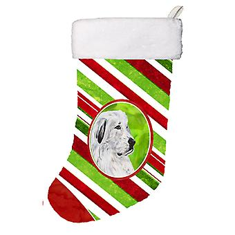 Great Pyrenees Candy Cane Christmas Christmas Stocking