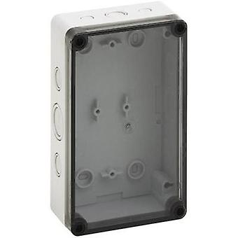 Build-in casing 110 x 180 x 63 Polycarbonate (PC) Light grey Sp
