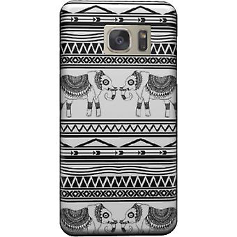 Elephant Tribal Pattern housse pour Galaxy Note 5