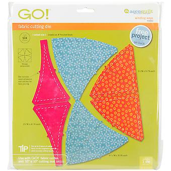 Go! Fabric Cutting Dies-Winding Ways 55069