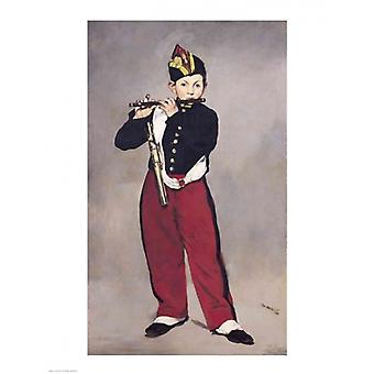 The Fifer 1866 Poster Print by Edouard Manet